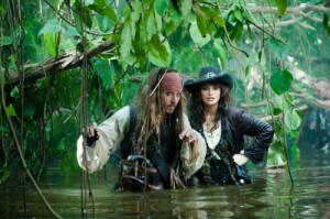 Pirates of the Caribbean: On Stranger Tides movie scene