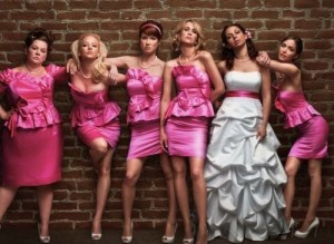 Bridesmaids movie scene