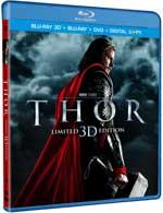 Thor Blu-ray 3D box