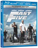 Fast Five Blu-ray box