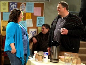Mike & Molly scene