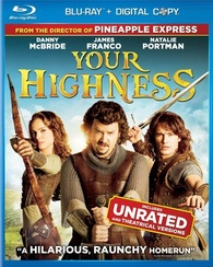 Your Highness Blu-ray box