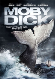 Moby Dick DVD box