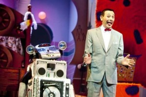 The Pee-Wee Herman Show on Broadway scene
