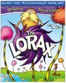 The Lorax Blu-ray/DVD box