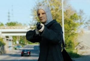 Robber movie scene