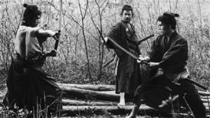 Three Outlaw Samurai movie scene