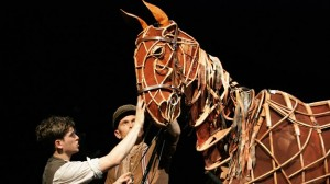 Making War Horse movie scene