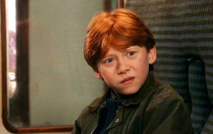 Rupert Grint as Ron Weasley in Harry Potter and the Sorcerer's Stone