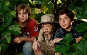 The Three Investigators in the Secret of Skeleton Island movie scene