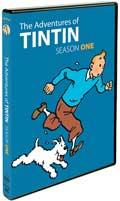 The Adventures of Tintin Season One DVD box