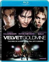 Velvet Goldmine Blu-ray cover