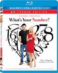 What's Your Number? Blu-ray box