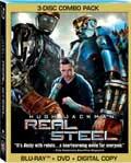 Real Steel Three-Disc Blu-ray box
