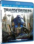 Transformers Dark of the Moon Blu-ray 3D box