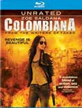 Colombiana Blu-ray box