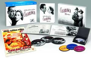 Casablanca 70th Anniversary Edition Blu-ray box
