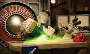 Wallace & Gromit's World of Invention scene