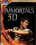 Immortals Blu-ray 3D box