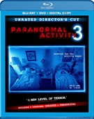 Paranormal Acticity 3 Blu-ray
