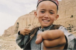 The Boy Who Plays on the Buddhas of Bamiyan movie scene