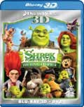 Shrek Forever After Blu-ray 3D box