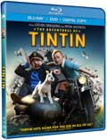 The Adventures of Tintin Blu-ray box