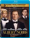 Albert Nobbs Blu-ray box