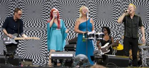 The B-52s: With The Wild Crowd: Live In Athens, GA scene