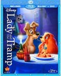 Lady and the Tramp Diamond Edition Blu-ray box