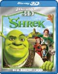 Shrek Blu-ray 3D box
