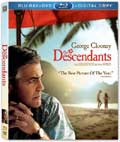 The Descendants Blu-ray box