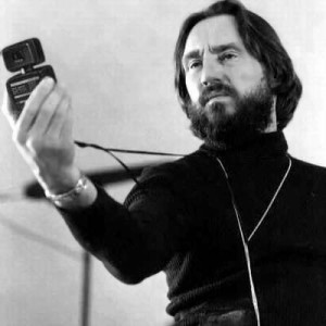 Vilmos Zsigmond getting the job done in the early 1970s.