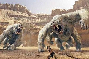 John Carter movie scene