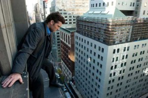 Man on a Ledge movie scene