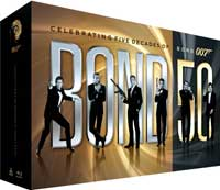 Bond 50 Blu-ray box