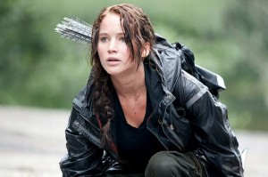 The Hunger Games movie scene