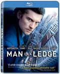 Man on a Ledge Blu-ray box