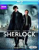 Sherlock Season Two Blu-ray box