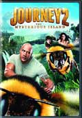Journey 2: The Mysterious Island DVD box