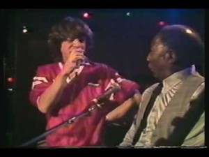 Muddy Waters & The Rolling Stones Live At The Checkerboard Lounge Chicago 1981 scene