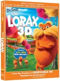 Dr. Seuss' The Lorax Blu-ray 3D box