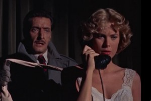 Dial M for Murder movie scene