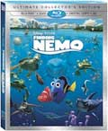 Finding Nemo Blu-ray 3D box
