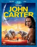 John Carter Blu-ray box