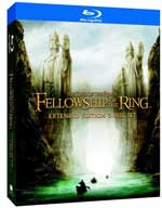 The Lord of the Rings: Fellowship of the Rings Extended Edition Blu-ray box
