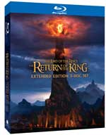 The Lord of the Rings: Return of King Extended Edition Blu-ray box