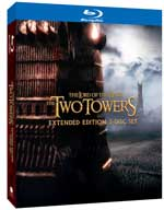The Lord of the Rings: The Two Towers Extended Edition Blu-ray box