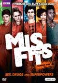 Misfits Season 1 DVD box