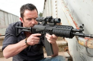 Strike Back: Season One scene